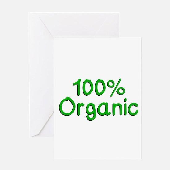 100 % Organic Greeting Cards