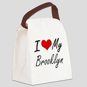 I love my Brooklyn Canvas Lunch Bag