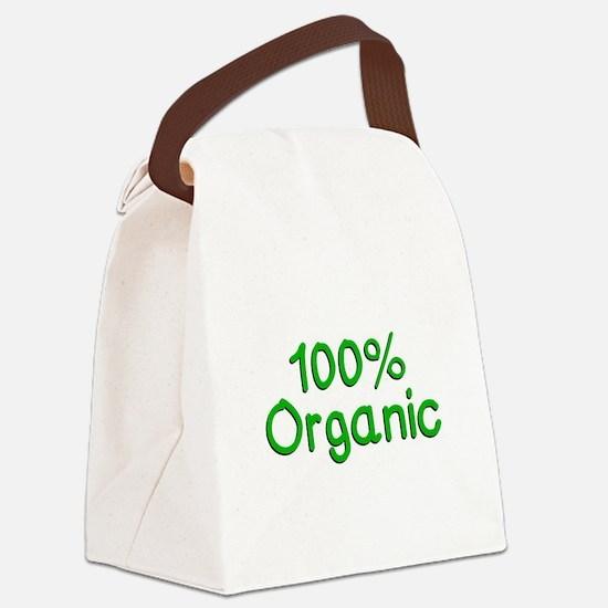 100 % Organic Canvas Lunch Bag