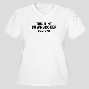 Pawnbroker costume Women's Plus Size V-Neck T-Shir