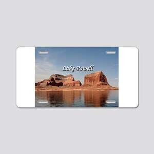 Lake Powell, Glen Canyon, A Aluminum License Plate