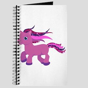 glitter pony Journal