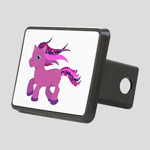 glitter pony Rectangular Hitch Cover