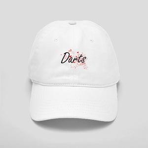 Darts Artistic Design with Hearts Cap