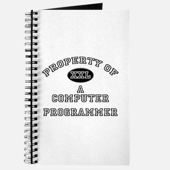 Property of a Computer Programmer Journal