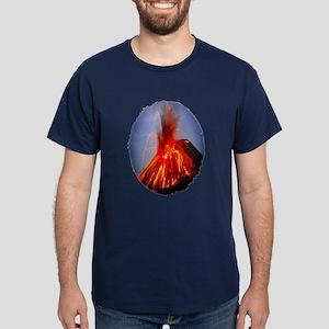 Krakatoa Volcano Hawaii Dark T-Shirt
