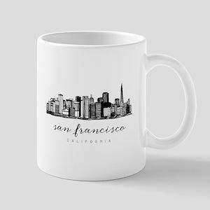 San Francisco Skyline Mugs