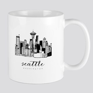 Seattle Skyline Mugs