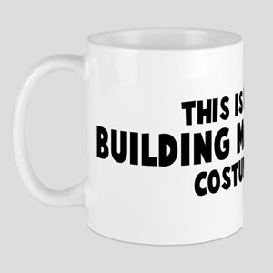 Building Manager costume Mug