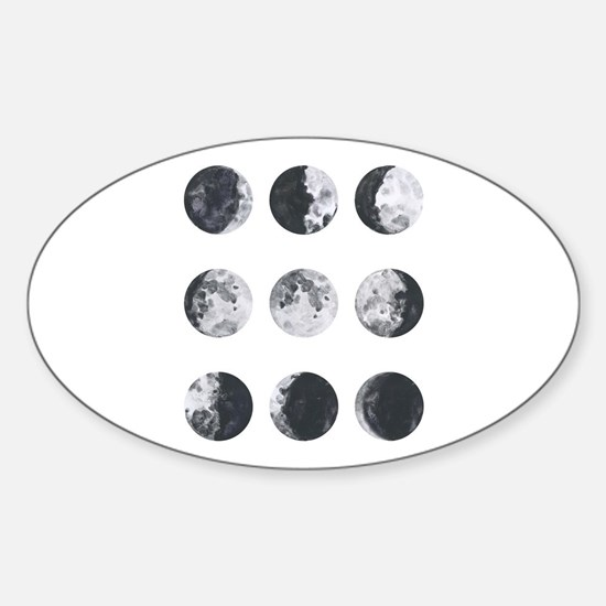 Moon Phases Decal