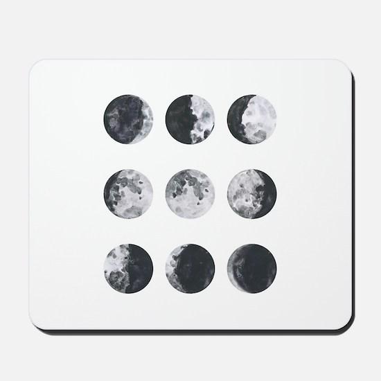 Moon Phases Mousepad