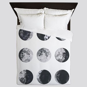 Moon Phases Queen Duvet