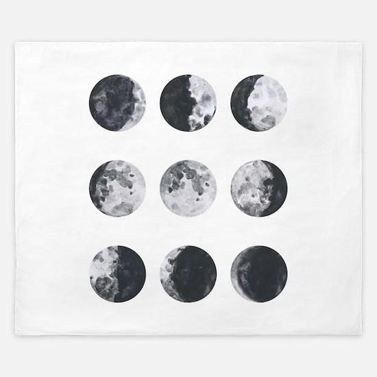 Moon Phases King Duvet