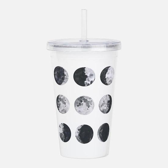 Moon Phases Acrylic Double-wall Tumbler