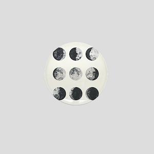 Moon Phases Mini Button