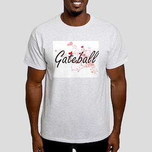 Gateball Artistic Design with Hearts T-Shirt