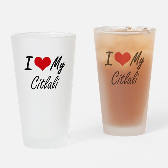 I love my Citlali Drinking Glass