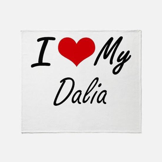 I love my Dalia Throw Blanket