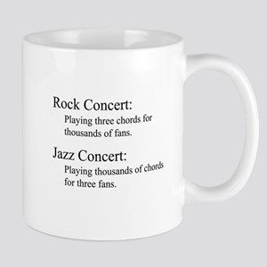 Jazz Concert Large Mugs