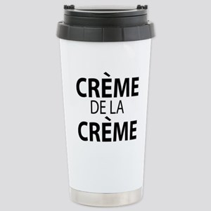 CREME DE LA CREME Stainless Steel Travel Mug