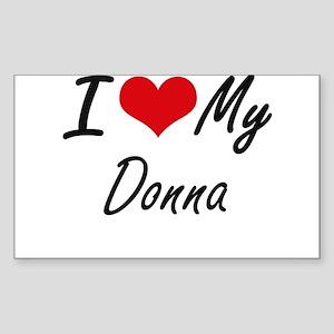 I love my Donna Sticker