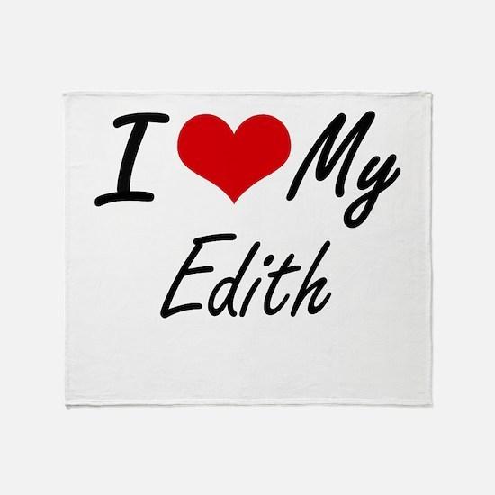 I love my Edith Throw Blanket