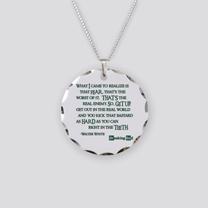 BREAKINGBAD WORST OF IT Necklace Circle Charm