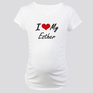 I love my Esther Maternity T-Shirt