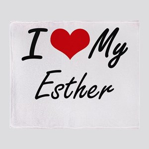I love my Esther Throw Blanket