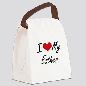 I love my Esther Canvas Lunch Bag