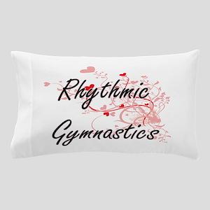 Rhythmic Gymnastics Artistic Design wi Pillow Case