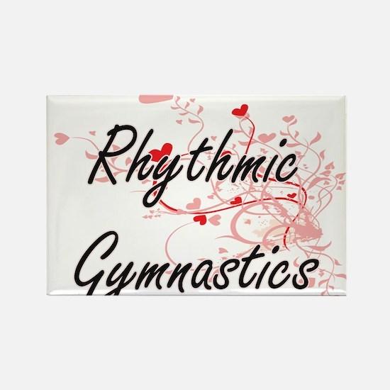 Rhythmic Gymnastics Artistic Design with H Magnets