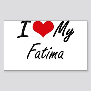 I love my Fatima Sticker