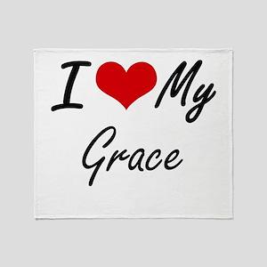 I love my Grace Throw Blanket