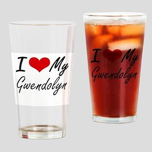 I love my Gwendolyn Drinking Glass