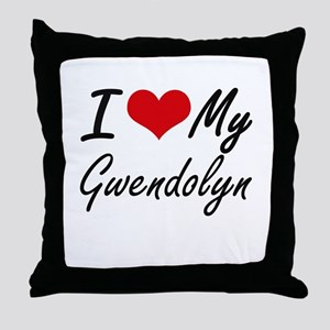 I love my Gwendolyn Throw Pillow