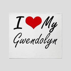 I love my Gwendolyn Throw Blanket
