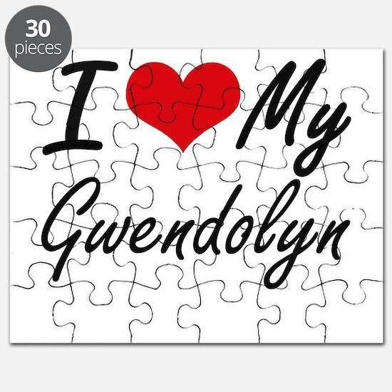 I love my Gwendolyn Puzzle