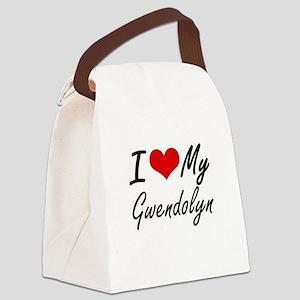 I love my Gwendolyn Canvas Lunch Bag