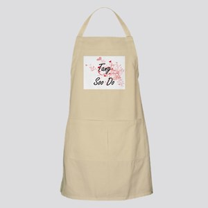 Tang Soo Do Artistic Design with Hearts Apron