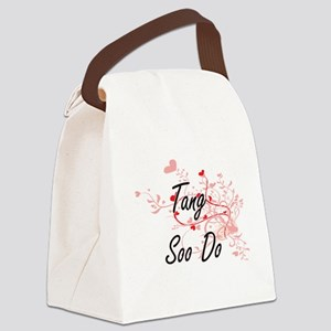 Tang Soo Do Artistic Design with Canvas Lunch Bag