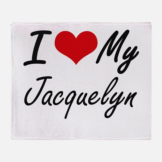 I love my Jacquelyn Throw Blanket
