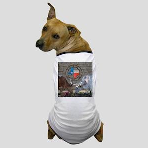 Texas Longhorns In Love Dog T-Shirt