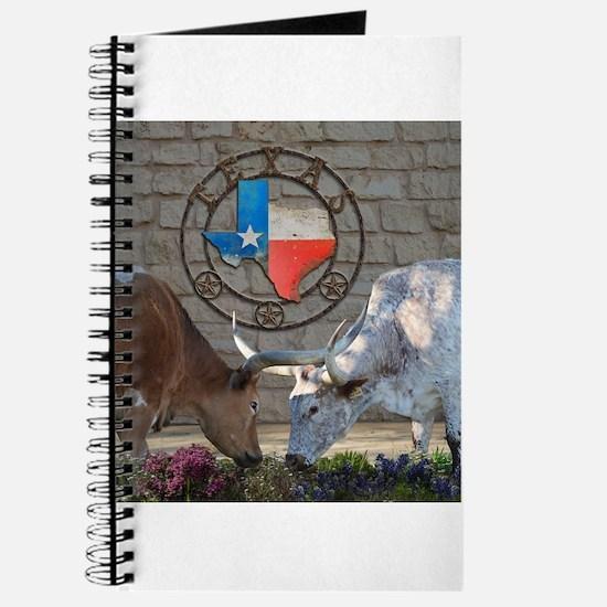 Texas Longhorns In Love Journal