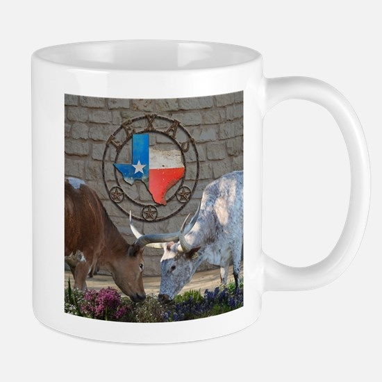 Texas Longhorns In Love Mugs