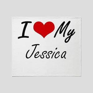 I love my Jessica Throw Blanket