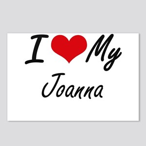 I love my Joanna Postcards (Package of 8)
