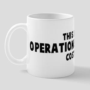 Operations Manager costume Mug