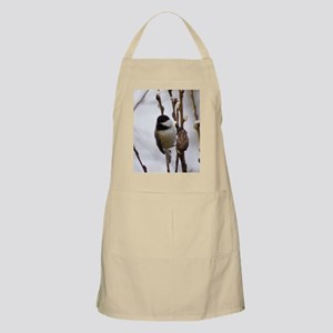 Black Capped Chickadee Apron