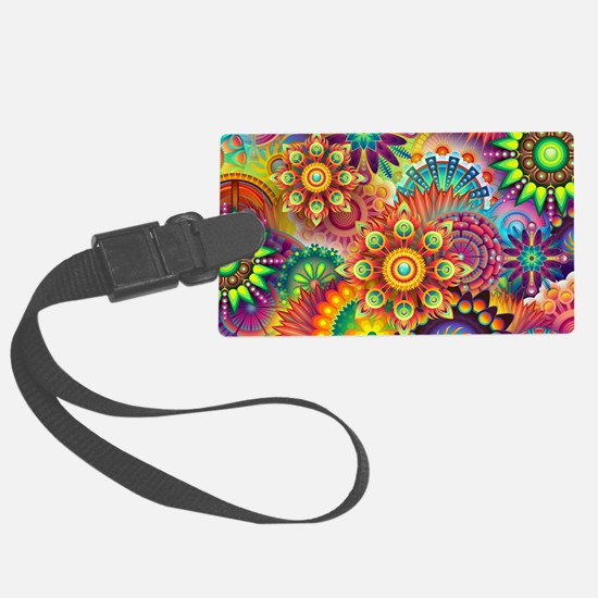Funny Colorful Luggage Tag